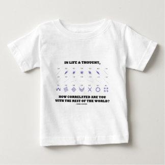 生命及びCorrelated残りいかにのであるか考えられる ベビーTシャツ