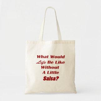 生命外にある何が少しサルサのtxtのように トートバッグ