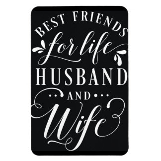 生命夫および妻の黒板のための親友 マグネット