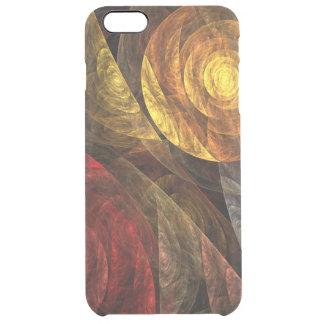 生命抽象美術の螺線形 クリア iPhone 6 PLUSケース