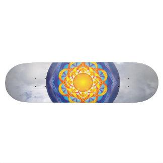 生命曼荼羅の花 スケートボード