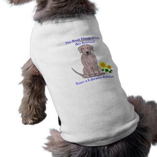 生命犬のTシャツのラブラドル・レトリーバー犬の最も最高のな事 ペット服