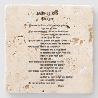 生命祈りの言葉の道 ストーンコースター