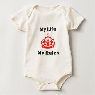 生命規則 ベビーボディスーツ