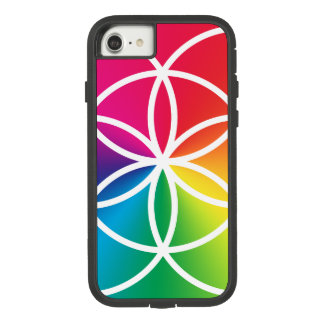 生命記号のチャクラの虹の種 Case-Mate TOUGH EXTREME iPhone 8/7ケース
