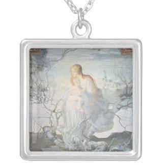 生命1894年の天使 シルバープレートネックレス