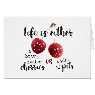生命--さくらんぼかピット カード