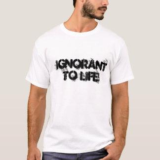 """""""生命""""に知らないTシャツの石! Tシャツ"""