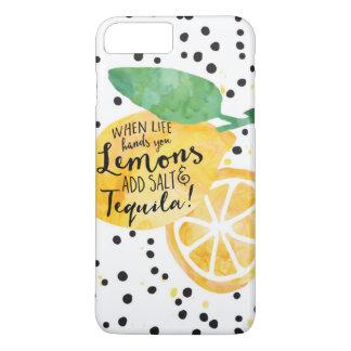生命、レモン、塩、及びテキーラ|のおもしろいな場合 iPhone 8 PLUS/7 PLUSケース