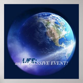 生命: 印象的なイベント! ポスター