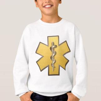 生命(金ゴールド)の星 スウェットシャツ