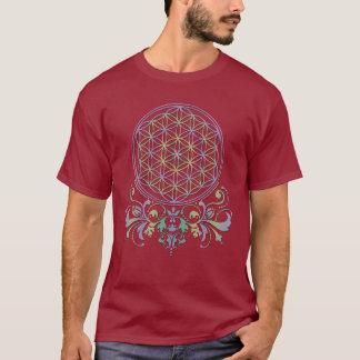 生命/Blume des Lebens -オーナメントの花II Tシャツ