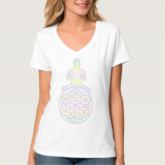 生命/Blume des Lebens -仏の花 Tシャツ