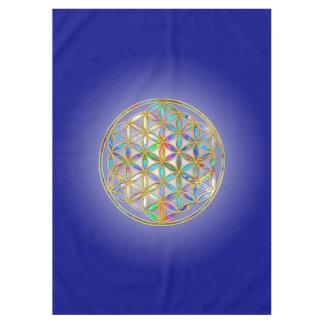 生命/Blume des Lebens -多彩な輝やきの花 テーブルクロス