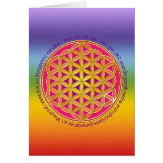 生命/Moolaの信念の花 カード