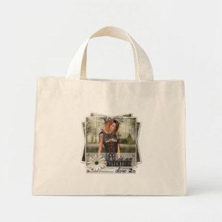 生命I冒険-小さいトート ミニトートバッグ