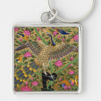 生命Keychainの鳥 キーホルダー
