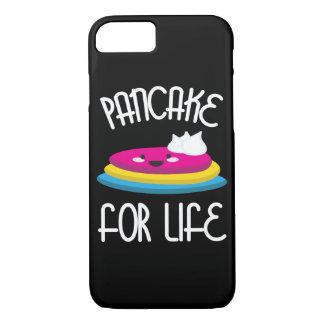 生命Pansexual LGBTプライドのためのパンケーキ iPhone 8/7ケース