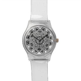 生命zendoodleの花 腕時計