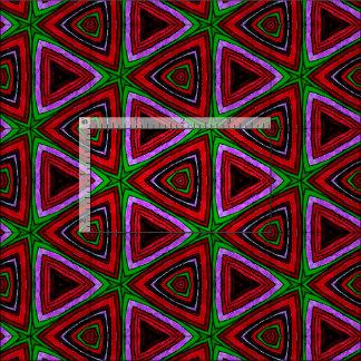 生地$の24.95/€ 22.65の赤の三角形パターンデザインの ファブリック