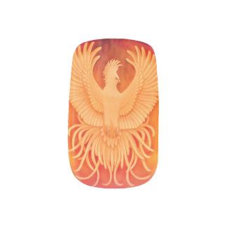 生存者のフェニックスの火の鳥のMinxのネイルシール ネイルアート