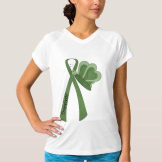 生存者の緑の認識度 Tシャツ