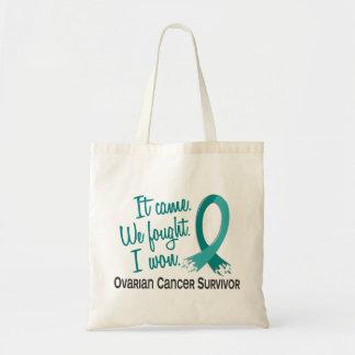 生存者11の卵巣癌 トートバッグ