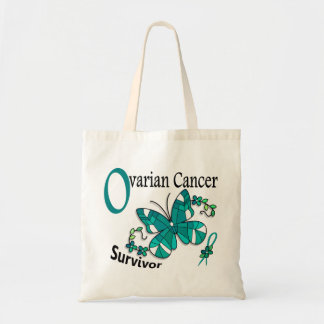 生存者6の卵巣癌 トートバッグ