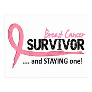 生存者8の乳癌 ポストカード
