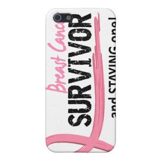 生存者8の乳癌 iPhone 5 カバー