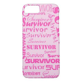 生存者-乳癌 iPhone 8/7ケース