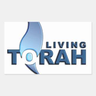 生存Torah 長方形シール