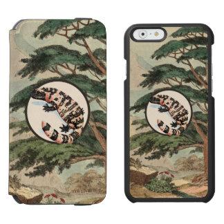 生息環境の絵のアメリカドクトカゲ INCIPIO WATSON™ iPhone 6 財布ケース