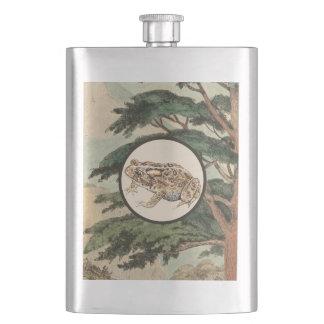 生息環境の絵のヒキガエル フラスク