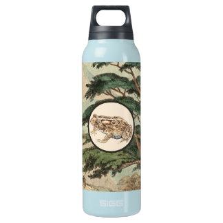 生息環境の絵のヒキガエル 断熱ウォーターボトル