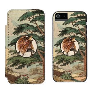 生息環境の絵のFrilledトカゲ Incipio Watson™ iPhone 5 財布 ケース