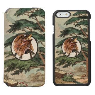 生息環境の絵のFrilledトカゲ Incipio Watson™ iPhone 6 財布ケース