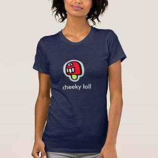 生意気だらだらして下さい Tシャツ