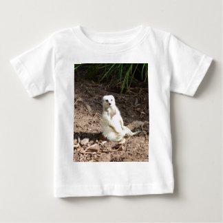 生意気で白いMeerkat、 ベビーTシャツ
