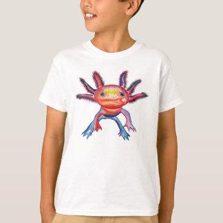 生意気なアホロートルのデザインのTシャツ Tシャツ