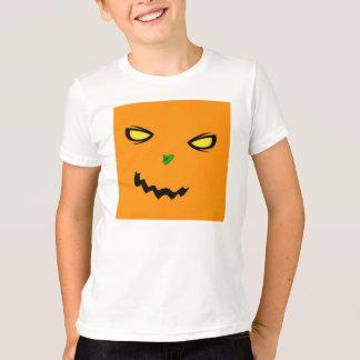生意気なカボチャ青年信号器のTシャツ Tシャツ