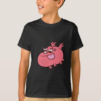 生意気なブタ Tシャツ