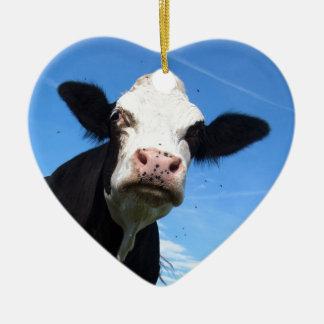 生意気な牛 セラミックオーナメント