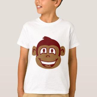 生意気な猿の顔 Tシャツ