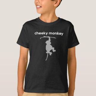 生意気な猿はTシャツをからかいます Tシャツ