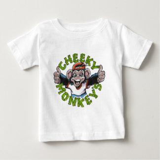 生意気な猿 ベビーTシャツ