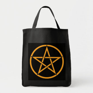 生意気な魔法使いによる星形五角形の五芒星のトートバック トートバッグ