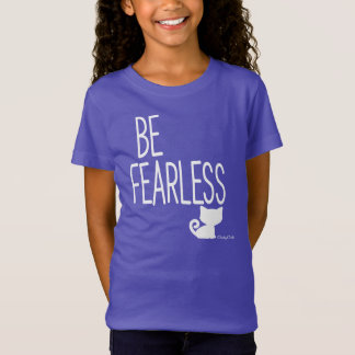 生意気なCHによって大胆不敵で感動的な猫のTシャツ行って下さい Tシャツ