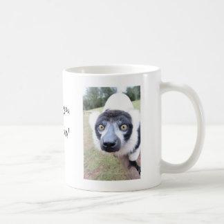 生意気なlemurのマグ コーヒーマグカップ