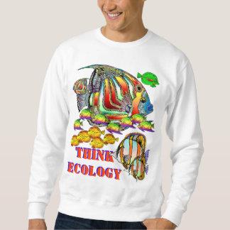 生態学のトレーナーを考えて下さい スウェットシャツ